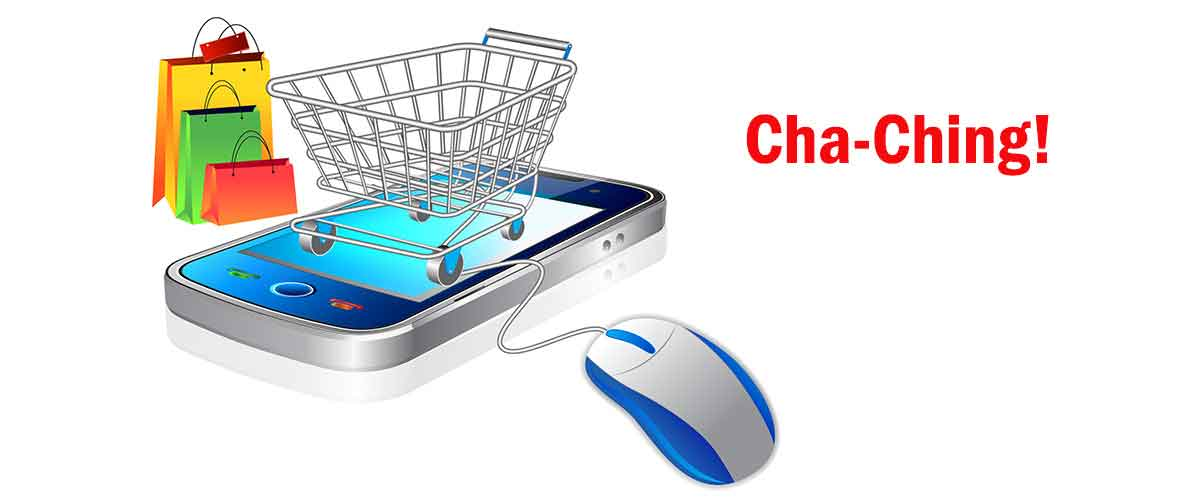 Online and smart phone sales